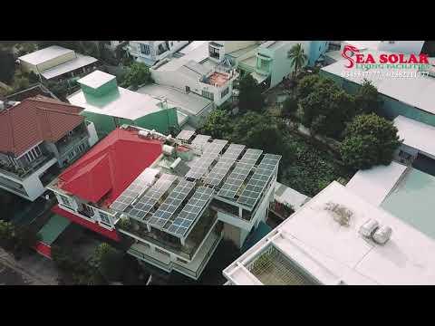 Công trình điện mặt trời hộ gia đình 23kW tại Vĩnh Điềm Trung