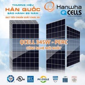 Pin năng lượng mặt trời 350w - Hanwha Qcells QPlus G4.2