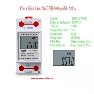 Đồng hồ đo công suất điện 80A