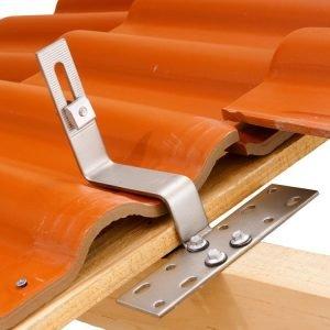 Chân lắp mái ngói cho khung đỡ tấm pin năng lượng mặt trời