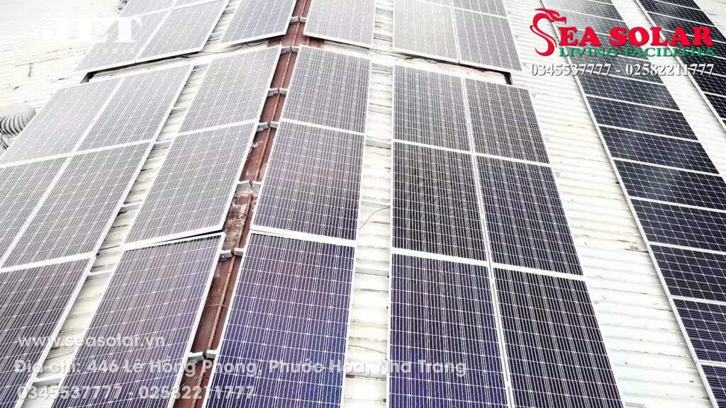 Toàn cảnh công trình điện mặt trời 180KWP tại phim trường Jet Studio, Tp. Hồ Chí Minh