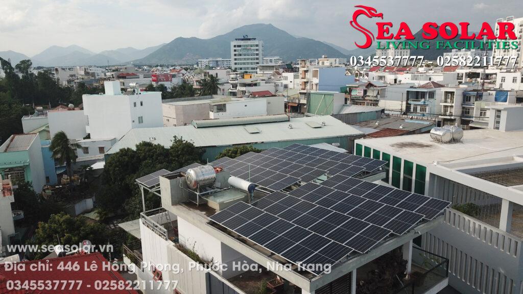 Công trình điện mặt trời hộ gia đình 25kW tại Vĩnh Điềm Trung, Nha Trang