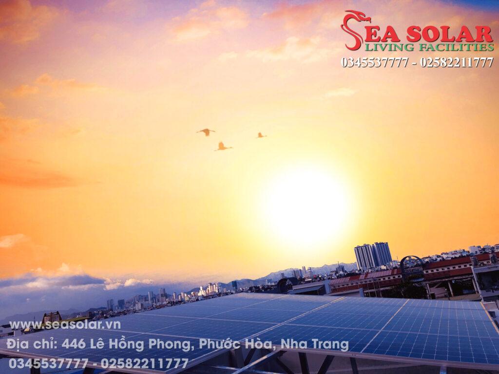 Công trình điện năng lượng mặt trời hộ gia đình 4KW tại 19 Tôn Đức Thắng, Hòn Rớ, Nha TRang